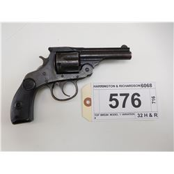HARRINGTON & RICHARDSON , MODEL: TOP BREAK MODEL 1 VARIATION 4 , CALIBER: 32 H & R