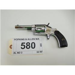 HOPKINS & ALLEN , MODEL: XL NO 3  , CALIBER: 32 RF