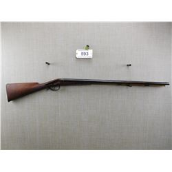 UNKNOWN , MODEL: SIDE BY SIDE PERCUSSION , CALIBER: 12 BORE