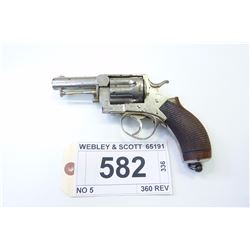 WEBLEY & SCOTT , MODEL: NO 5  , CALIBER: 360 REV