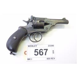 WEBLEY    , MODEL: MK I , CALIBER: 102MM