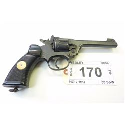 WEBLEY , MODEL: NO 2 MKI , CALIBER: 38 S&W