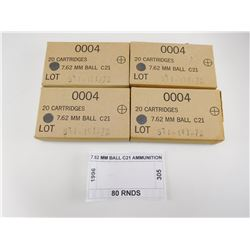 7.62 MM BALL C21 AMMUNITION