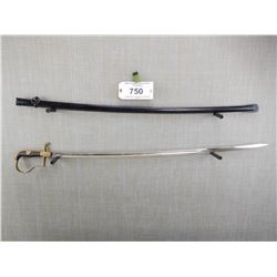 WWII GERMAN SWORD WITH SCABBARD