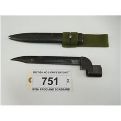 BRITISH NO 9 KNIFE BAYONET