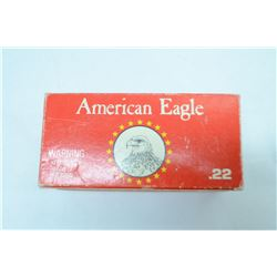 F6-400 ROUNDS AMREICAN EAGLE .22LR