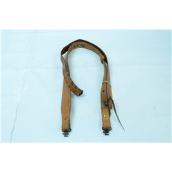 2 LEATHER RIFLE SLINGS