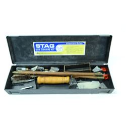 STAG VINTAGE WOOD GUN CLEANING KIT