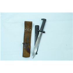 F2 BAYONET AND SHEATH UNKNOWN
