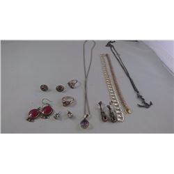 MISC JEWELRY ( 10 ITEMS)