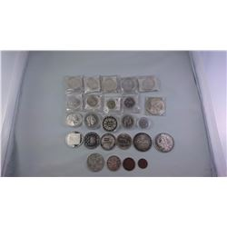 AUSTRIA 19TH AND 20TH CENTURY MAINLY SILVER COINS ASW 8.8754OZ
