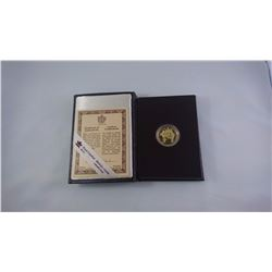 CANADA PROOF CASED 1989 1/4 OZ $100 COIN