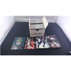 BOX WITH 1992 CLASSIC DRAFT COLLECTION