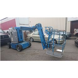 GENIE Z-30N ELECTRIC ARTICULATING BOOM LIFT - 30 FT WORKING HEIGHT - NO KEY