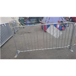 "42 X 84"" ALUMINUM EVENT FENCING SECTION"
