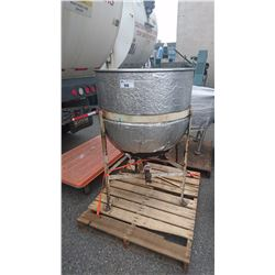 STAINLESS STEEL MELTING KETTLE