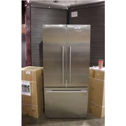 FISHER & PAYKEL ACTIVE SMART STAINLESS STEEL 17 CU FT COUNTER DEPTH FRENCH DOOR REFRIGERATOR