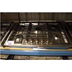 BOSCH STAINLESS STEEL 5 BURNER GAS COOKTOP
