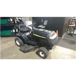 "POULAN 14.5 HP/42"" CUT RIDE-ON LAWNMOWER"