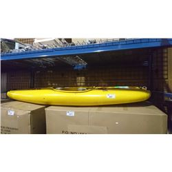 7' YELLOW QUALITY KAYAKS INTERNATIONAL KAYAK