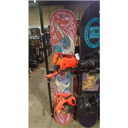 DESTROYER SNOWBOARD WITH BINDINGS