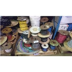 PALLET OF ASSORTED WIRE