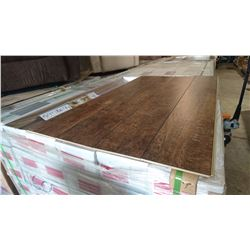 PALLET OF MILA CHATEAU BROWN LAMINATE FLOORING