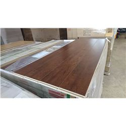 PALLET OF MILA MAHOGANY LAMINATE FLOORING