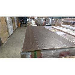 PALLET OF MILA OTTER BROWN LAMINATE FLOORING