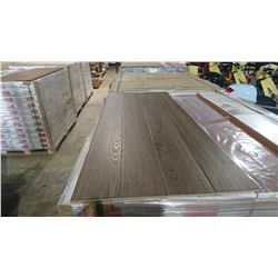 PALLET OF MILA KHAKI OAK LAMINATE FLOORING