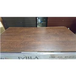 PALLET OF MILA CHATEAU RED LAMINATE FLOORING