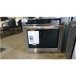 KITCHEN AID KEBS107SSS04 STAINLESS STEEL INSERT WALL OVEN