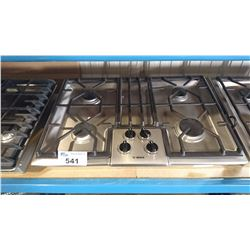 BOSCH STAINLESS STEEL 4 BURNER GAS COOK TOP