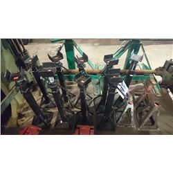 ASSORTED HEAVY DUTY JACK STANDS