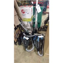 LOT OF ASSORTED VACUUMS