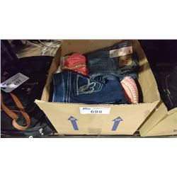 BOX OF DESIGNER WOMENS CLOTHING