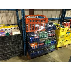 PALLET OF ASSORTED FOOD/BEVERAGE PRODUCTS (BIN NOT INCLUDED)
