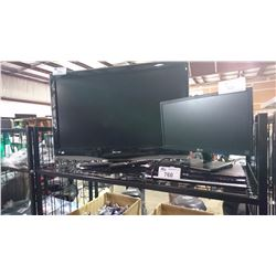 SHARP TV, LG MONITOR & DVD PLAYER