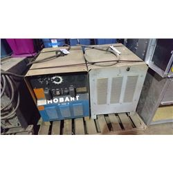 PALLET OF HOBART WELDERS