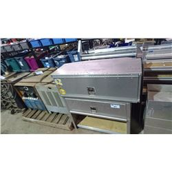 ASSORTED TRUCK STORAGE BOXES/SHELVES
