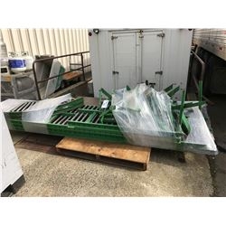 ASSORTED GREEN ROLLER CONVEYOR