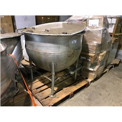 LARGE ALUMINIUM MELTING KETTLE