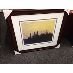 "TOM THOMSON ""SUNSET CANOE LAKE"" 300/950 LIMITED EDITION PRINT"