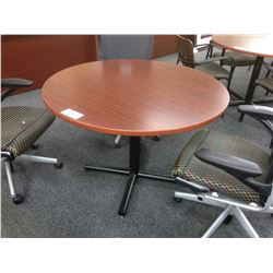 "MAHOGANY 42"" CONFERENCE TABLE"