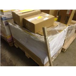PALLET OF PRINT SHOP SUPPLIES