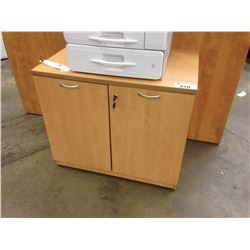 "MAPLE 36"" DOUBLE DOOR CABINET"