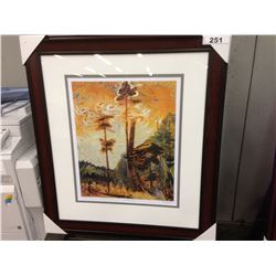 "EMILY CARR ""FOREST CLEARING"" 301/950 LIMITED EDITION PRINT"