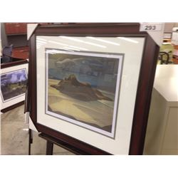 "LAWREN HARRIS ""PIC ISLAND"" 200/950 LIMITED EDITION PRINT"