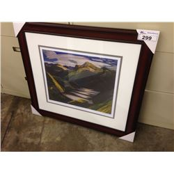 "FRANKLIN CARMICHAEL ""LIGHT AND SHADOW"" 341/950 LIMITED EDITION PRINT"