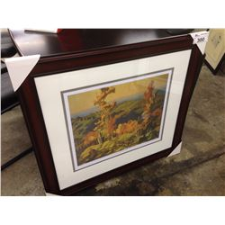 "FRANKLIN CARMICHAEL ""AUTUMN IN THE NORTHLAND"" 201/950 LIMITED EDITION PRINT"